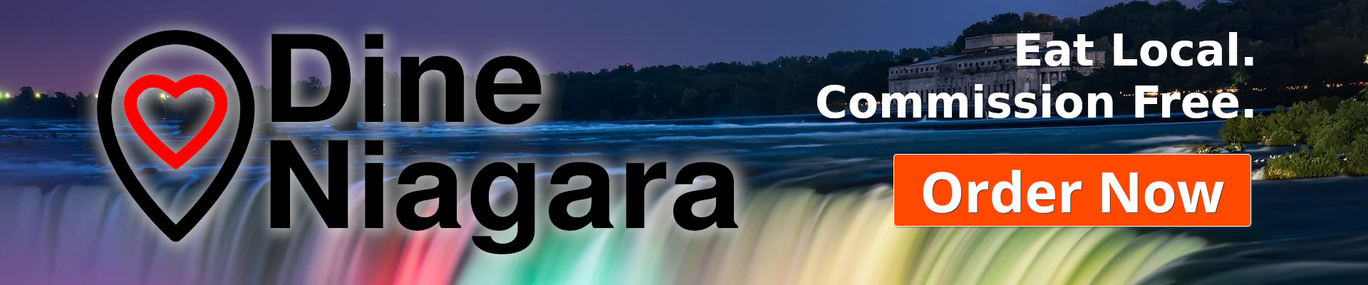 Dine Niagara provides online ordering for Niagara Restaurants that is commission free.