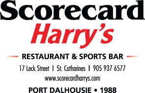 Scorecard Harry's St. Catharines